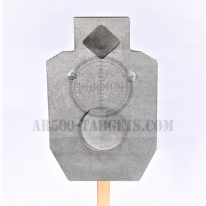 Double Tap Reactive AR500 Target