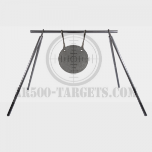 24″ PIPE STAND WITH 10″ ROUND TARGET