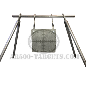 24″ PIPE STAND WITH 10″ SQUARE TARGET